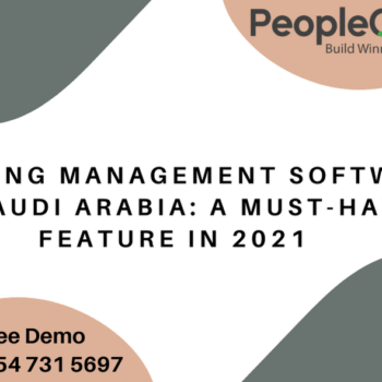 Learning Management Software in Saudi Arabia: A must-have feature in 2021
